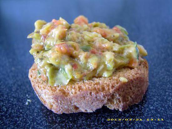 recette croutons provençal (apéro en famille)