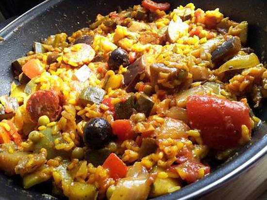 Recette de ratatouille espagnol - Recette de cuisine en espagnol ...