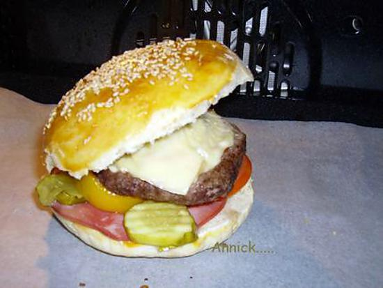 Recette De Hamburger Entierement Fait Maison