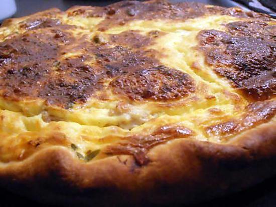 recette tarte fromagère aux moules