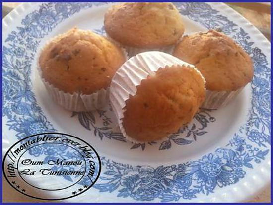 recette Muffins aux yaourt :
