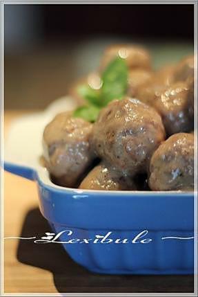 recette ~Boulettes de viande sauce suédoise~