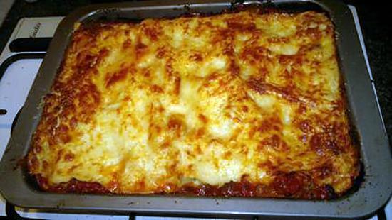 recette de lasagne fa on marcvip. Black Bedroom Furniture Sets. Home Design Ideas