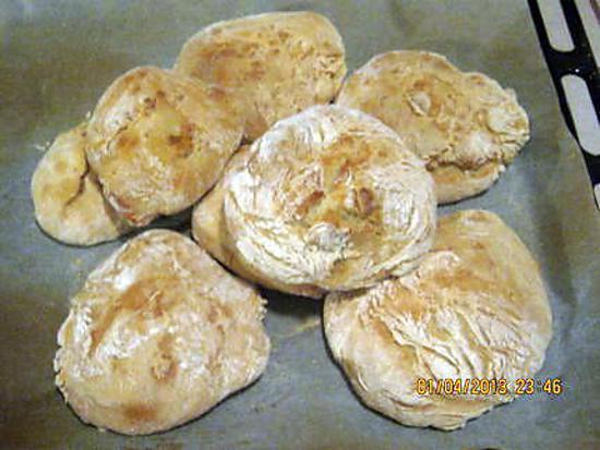 recette Petits pains ultra rapide sans pétrir