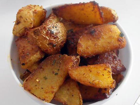 recette les potatoes à l'indienne