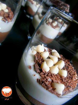 recette Mousse aux 2 chocolats {100% végétale}