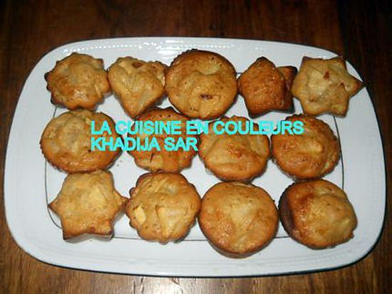 recette Muffins pommes-cannelle-ananas