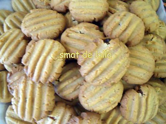 recette de biscuits au p 194 te d arachide et raisins secs