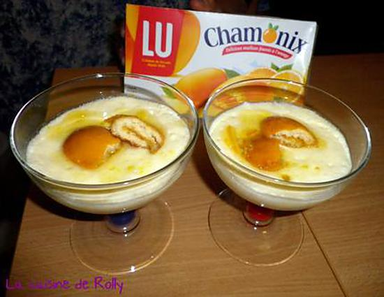 recette tiramisu a l'orange