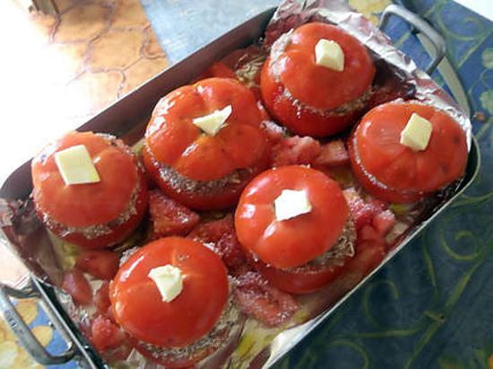 recette de tomates farcies par lafeecrochette. Black Bedroom Furniture Sets. Home Design Ideas