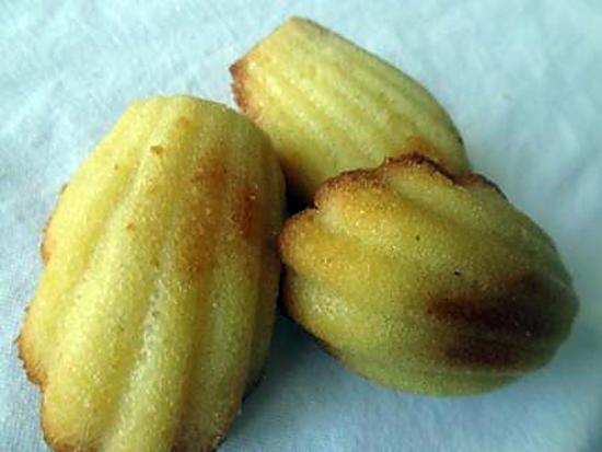 recette Madeleines à la vanille façon conticcini