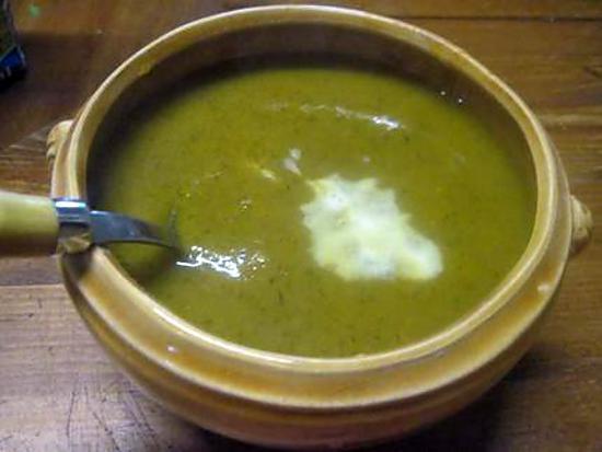 Recette de soupe de l gumes et aux fanes de minutes - Soupe potiron cocotte minute ...