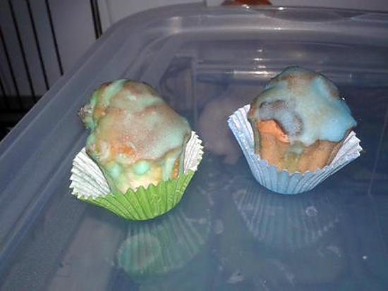 recette mini mini cupcakes et leur glaage color - Cupcake Colorant Alimentaire