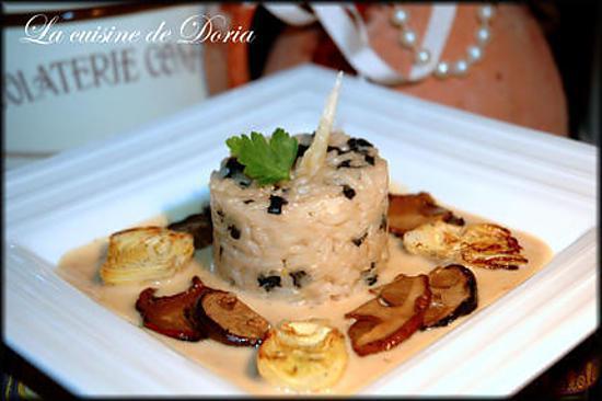 recette Risotto aux Cèpes en parfum de Truffes
