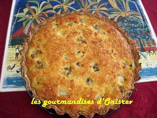Recette de tarte banane et noix de coco sur fond de tarte sp culos - Recette fond de tarte ...