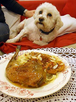Recette de cuisses de pintade au miel et abricots - Comment cuisiner des cuisses de pintade ...