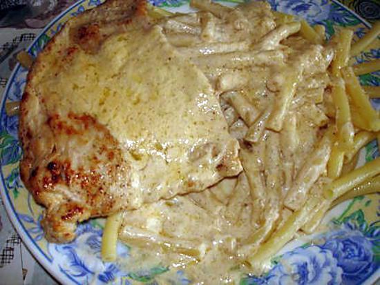 Recette d 39 escalope sauce au boursin cuisine ail et fines herbes - Boursin cuisine ail et fines herbes ...