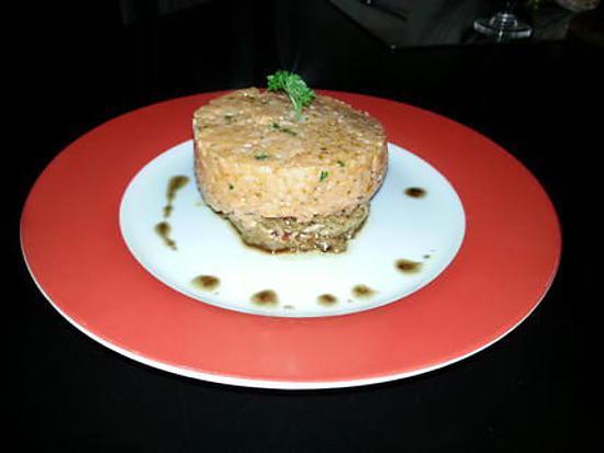 recette de steak hach et risotto la tomate. Black Bedroom Furniture Sets. Home Design Ideas