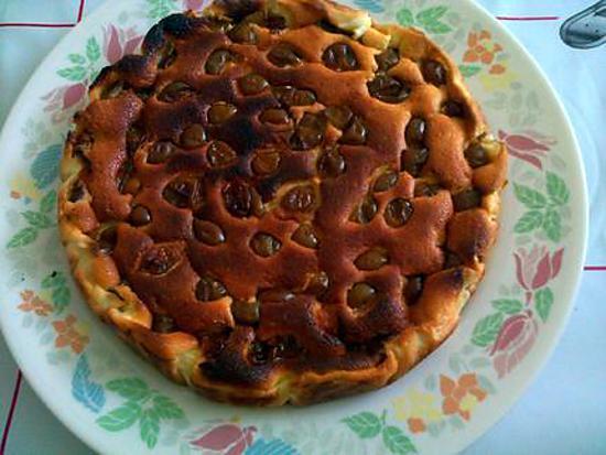 recette gateau fromagé aux prunes ( sans matiere grasse)