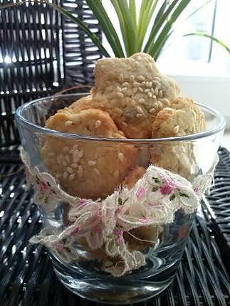 recette Sablé aux graines de sésame et graines de tournesol