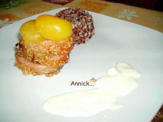 recette magret de canard rôti aux abricots
