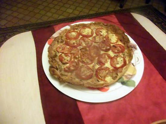 recette tarte thon tomates