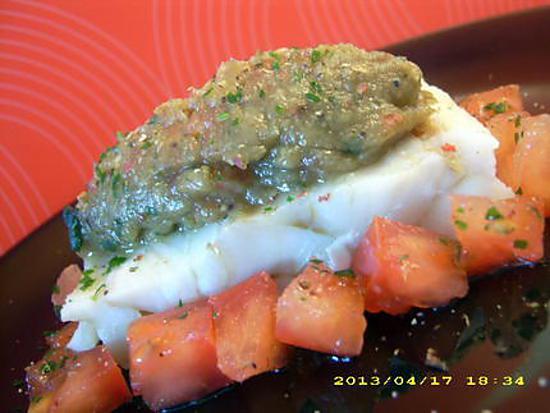 recette pavé de colin à l'orientale (diététique)