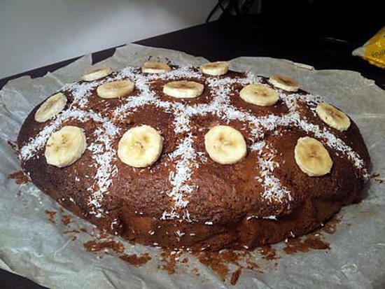 Gateau banane nutella facile