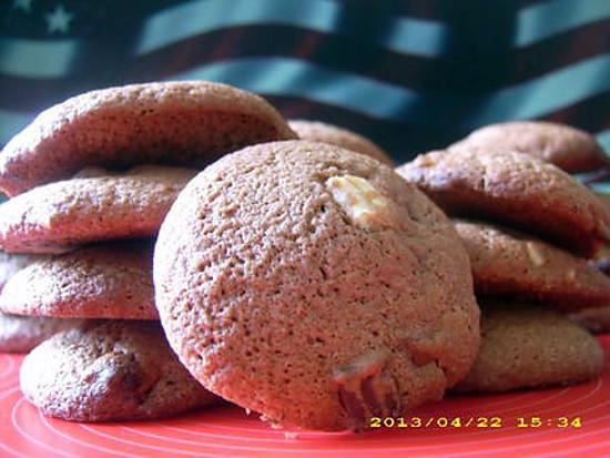 recette cookies chunks aux 3 chocolats