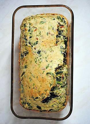 recette Cake salé végétalien, léger et savoureux