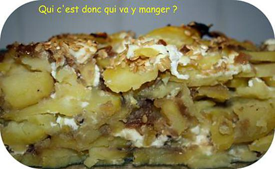 recette de gratin de pommes de terre au confit d 39 oignons sans gluten. Black Bedroom Furniture Sets. Home Design Ideas