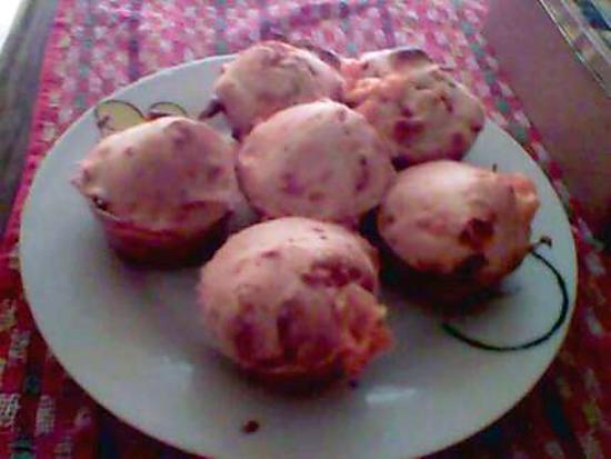 recette Muffins chorizo-mimolette