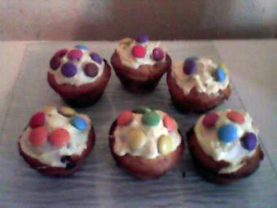 recette Muffins aux smarties