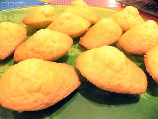recette Délicieuses madeleines