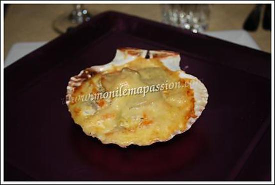 recette Fondue de petits légumes et fruits de mer au champagne