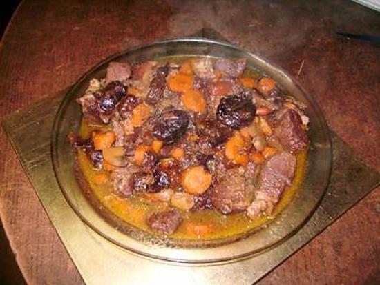 Recette de saute de porc aux pruneaux - Saute de porc cocotte minute ...