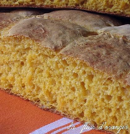 recette pain au potiron