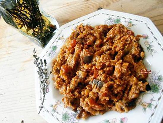 recette Aubergine Thon à La Tomate