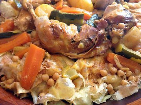 Recette de chakhchoukha algerienne - Recette de cuisine algerienne traditionnelle ...