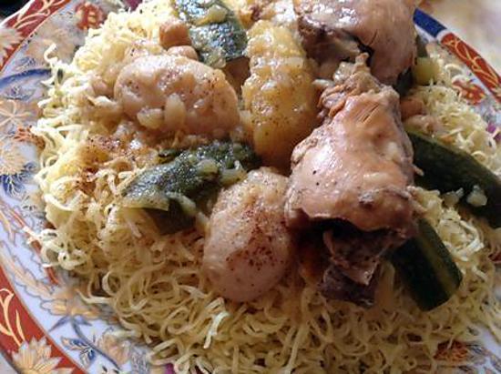 recette Rechta algerienne
