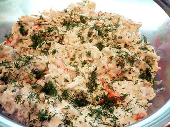 salade de poisson  430