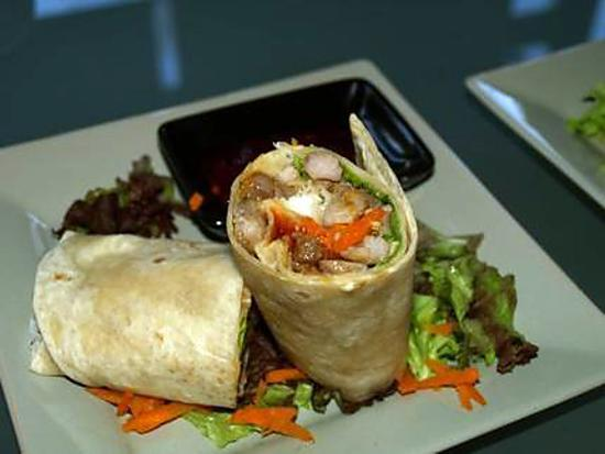 recette de wraps salade de boeuf vietnamienne. Black Bedroom Furniture Sets. Home Design Ideas