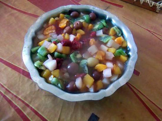 recette salade de fruits
