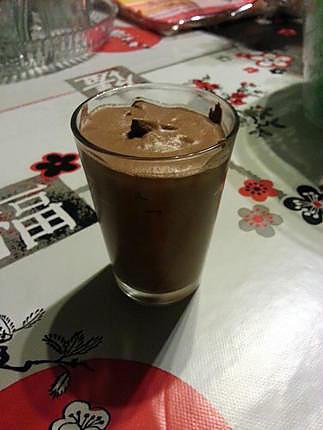 recette Mousse au chocolat cremeuse