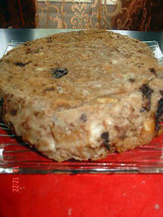 recette Pudding noix et chocolat