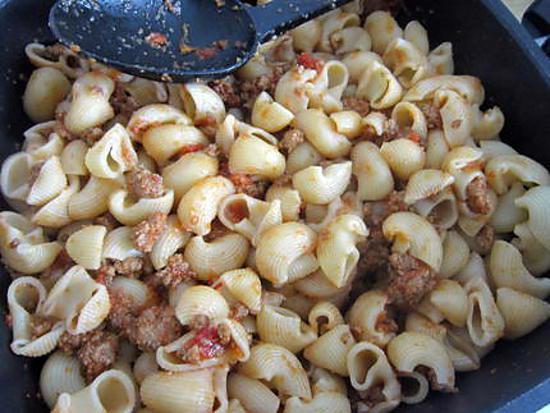 recette les pâtes à la saucisse façon Jamie Oliver