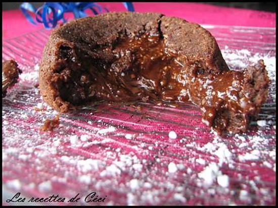 recette fondant au chocolat & à la noix de coco