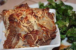 recette Galette aux pétoncles et fondue de poireaux