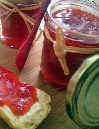 Recette de confiture de fraises citronn minute cuisson for Cuisson betterave au micro ondes