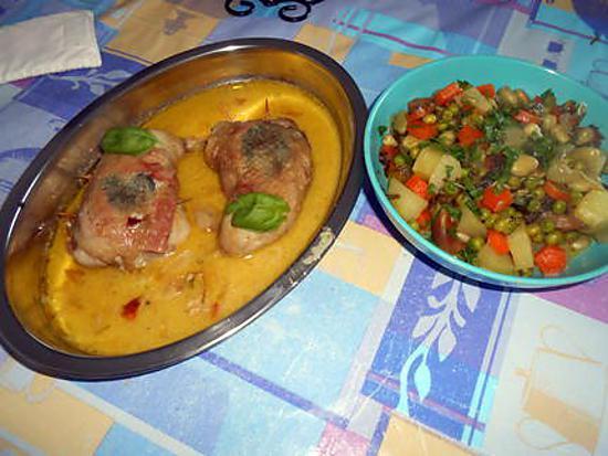 Cuisses de poulet italmo 430